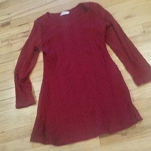New long sweater short sweater dress